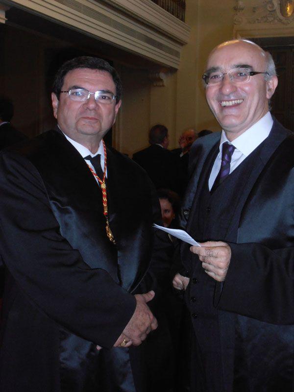 Rafael Ruiz Calatrava, recibió en el Salón de Actos del Tribunal Supremo, la Medalla al Mérito al Servicio de la Abogacía