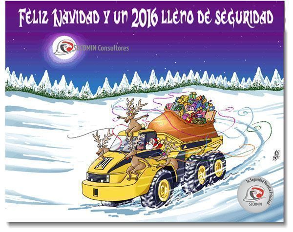 Feliz Navidad y un 2016 lleno de seguridad