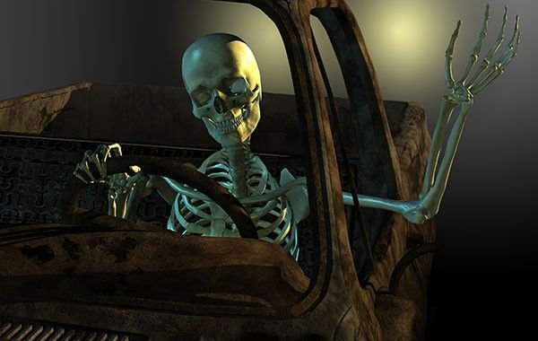 Los trabajadores del turno de noche podrían ser propensos a sufrir accidentes de tráfico