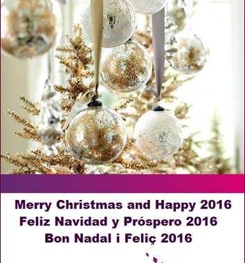Desde Ctaima os deseamos Feliz Navidad y Próspero 2016