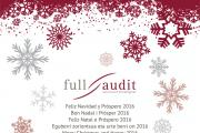 Feliz Navidad y Próspero 2016. Full Audit