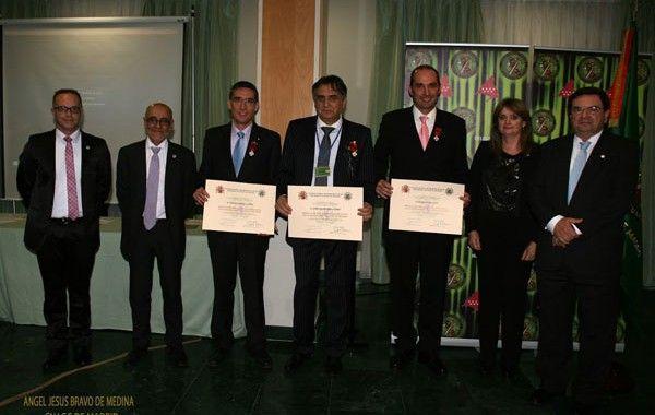 Medalla de oro al mérito profesional de la seguridad y salud en el trabajo a tres Guardias Civiles
