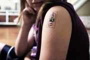 Tatuajes que vigilan la salud