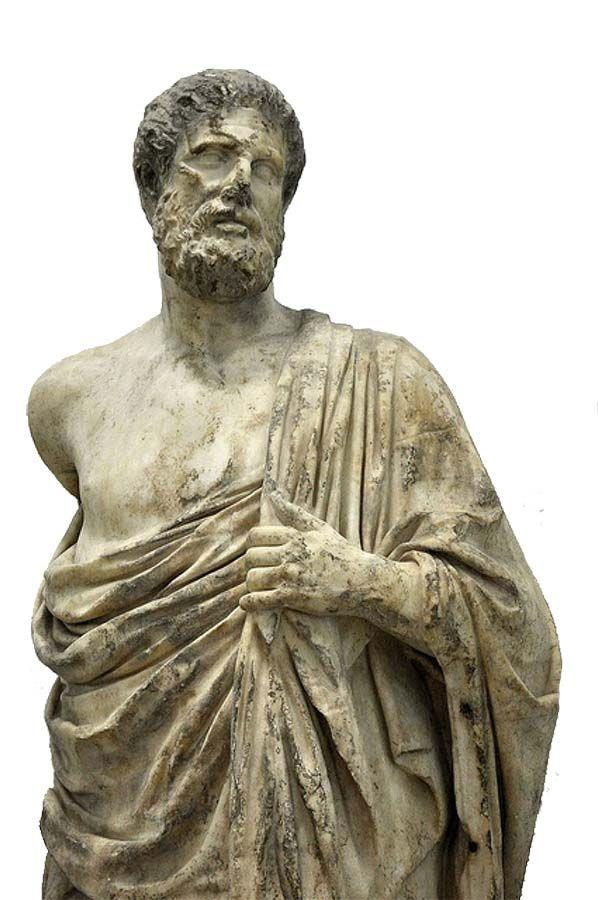 El padre de la medicina, Hipócrates, escribió un tratado sobre las enfermedades de los mineros.