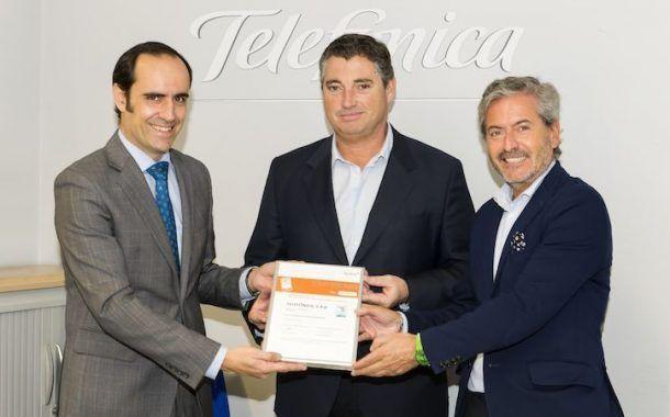Telefónica certificada como empresa saludable