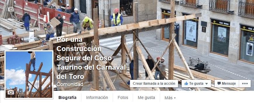 Por una construccion segura del coso taurino del Carnaval del Toro
