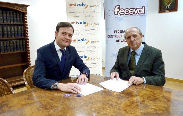 umivale y la Federación de Centros de Enseñanza de Valencia firman un acuerdo de colaboración