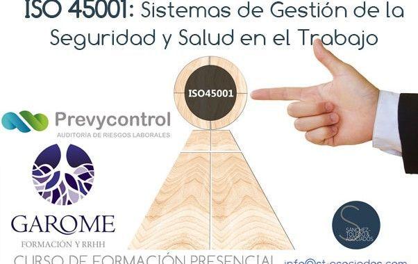 22 de Mayo – Curso ISO 45001 – Granada
