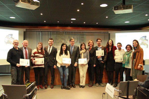 El Aula de Emprendedores de Fundación Prevent  y ESADE en Madrid reúne 30.000 euros en becas para lanzar sus mejores proyectos