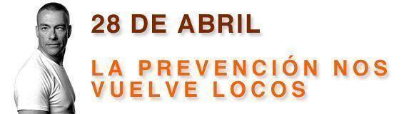28 de abril: Prevencionar se vuelve loco (28% descuento en todos nuestros cursos)