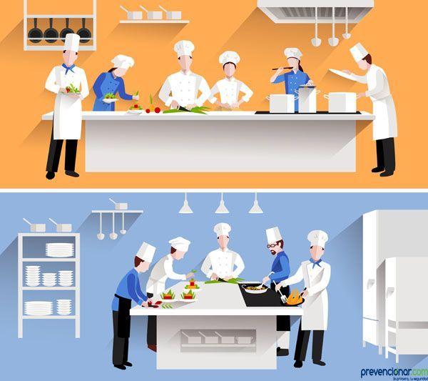 Manual de buenas prácticas de prevención de riesgos laborales en el sector de la hostelería: bares y restaurantes