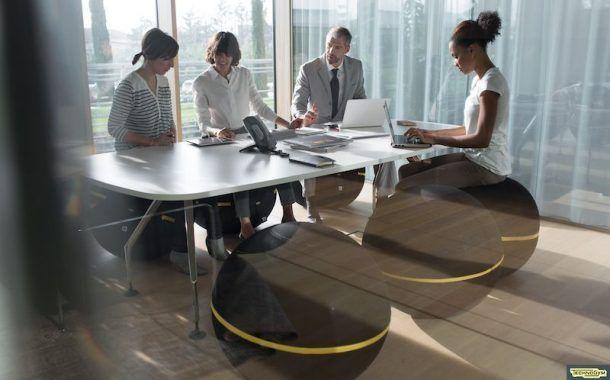 Estar sentado en la oficina no siempre es malo para tu espalda… Wellness Ball™ -Active-Sitting