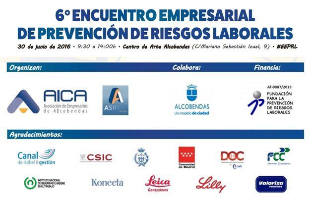 6º Encuentro Empresarial de PREVENCIÓN de Riesgos Laborales en Alcobendas