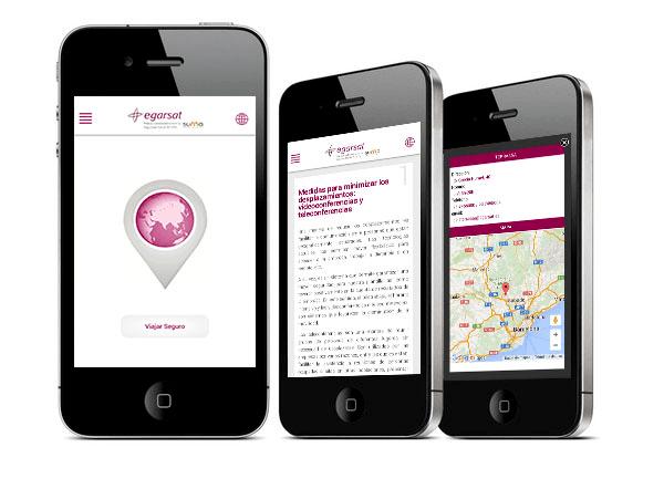 App con consejos para trabajadores que se desplazan