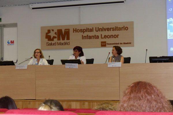 El Hospital Infanta Leonor reúne a expertos en prevención de riesgos del ámbito sanitario
