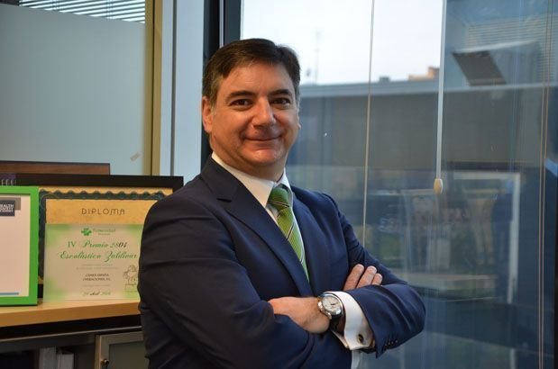 Javier Mota, un director de seguridad y salud pegado al negocio