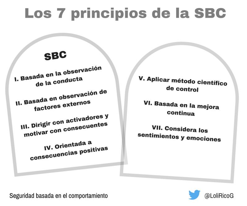 Los 7 Principios de la SBC