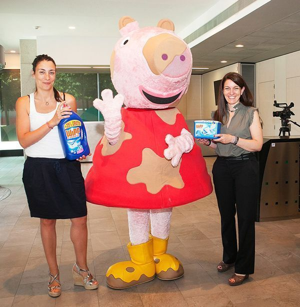 Henkel celebra una jornada familiar con Peppa Pig