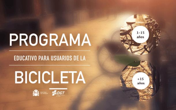 Programa educativo para usuarios de la bicicleta de la DGT
