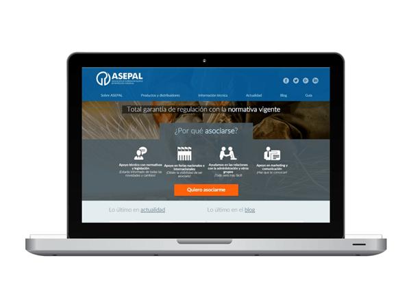 ASEPAL estrena nuevo diseño en su portal Web