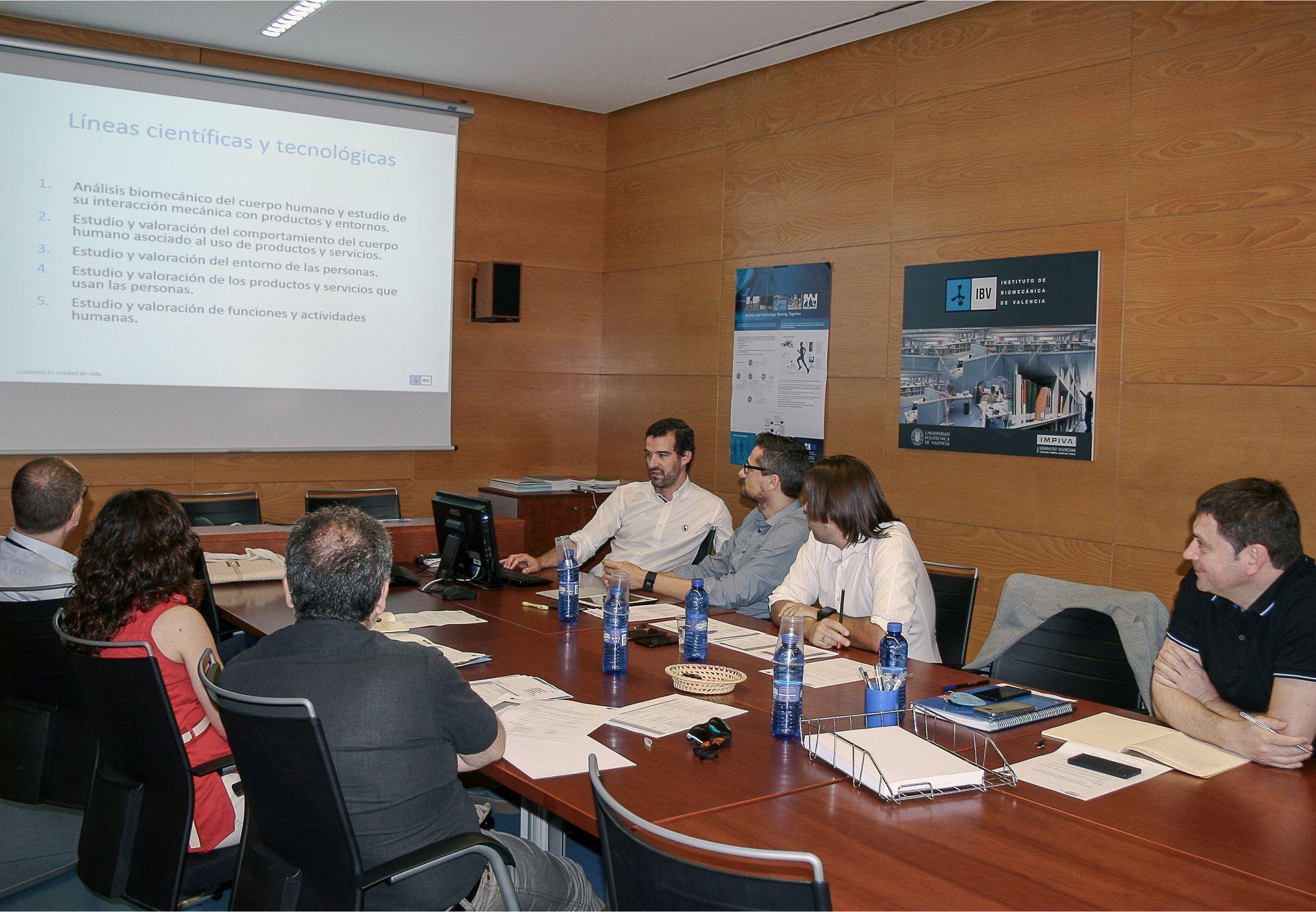 Comienza la colaboración entre el Hospital de La Ribera y el Instituto de Biomecánica (IBV)