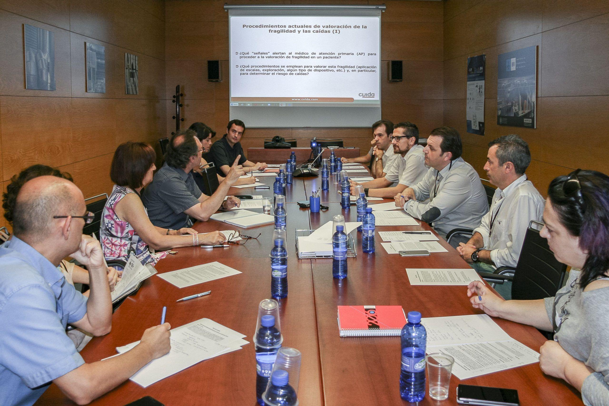 Encuentro de expertos promovido por CVIDA para la detección precoz y gestión de la fragilidad