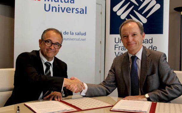 Mutua Universal y la Universidad Francisco de Vitoria firman un convenio de colaboración