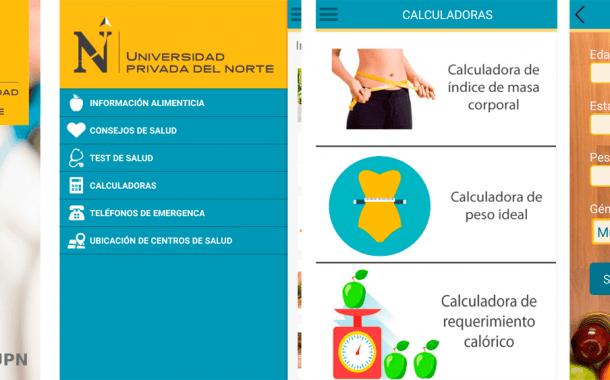 Salud UPN: app móvil peruana con consejos de salud y nutrición