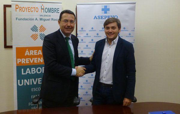 Acuerdo Proyecto Hombre y Asepeyo