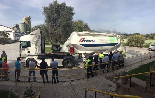 CEMEX celebra el Día de la Seguridad en el Transporte en su fábrica de Lloseta