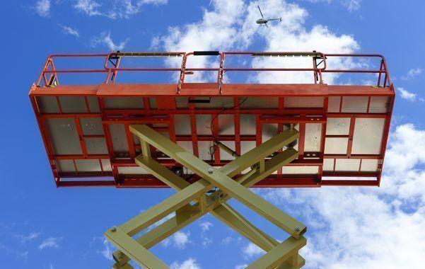Errores y accidentes con plataformas elevadoras 1/2