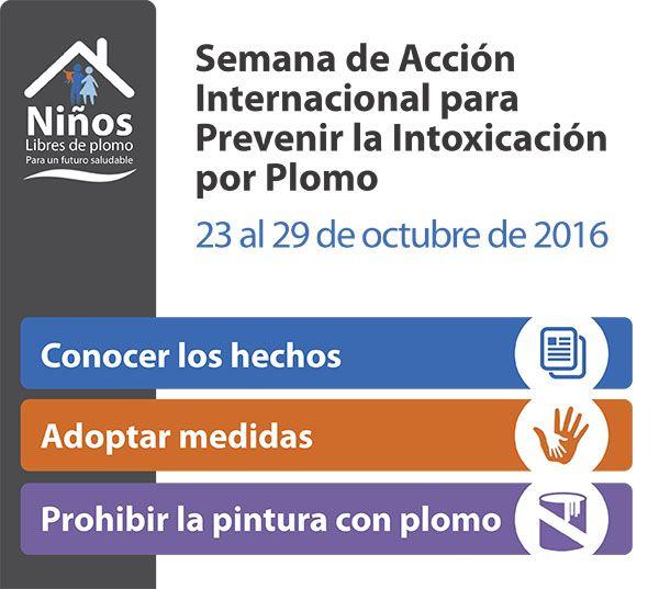 Semana de Acción Internacional para Prevenir la Intoxicación p