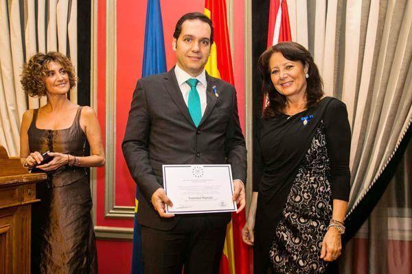 Medalla Europea al Mérito en el Trabajo a Fraternidad-Muprespa