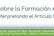 Interpretando el artículo 19 de la Ley de Prevención de Riesgos Laborales