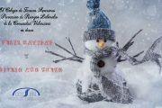 El COTSPRLCV os desea Feliz Navidad y Próspero Año Nuevo