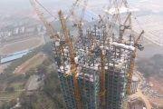 Alucinante: Construcción de un edificio de 57 plantas en 19 días