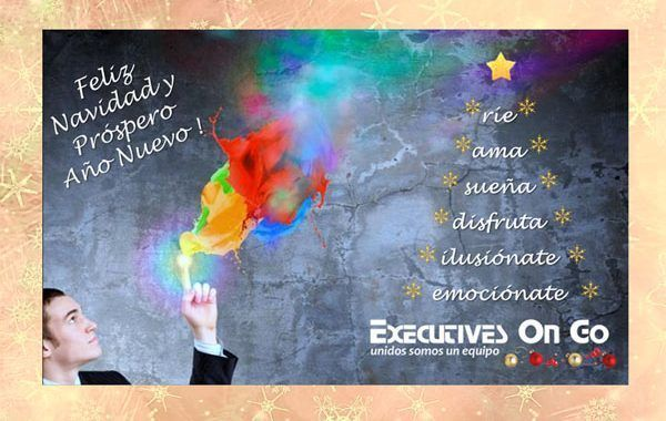 Desde Executives On Go os animamos a Reír, Amar, Soñar, Disfrutar, Ilusionarte y Emocionarte!
