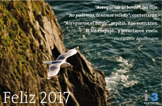 i+3 te desea Feliz 2017