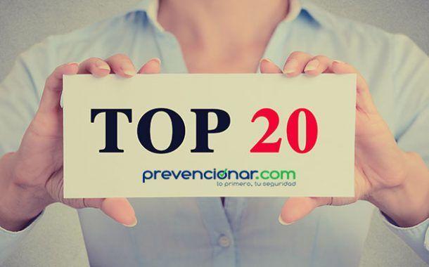 Las 20 noticias más leídas en Prevencionar durante el 2016