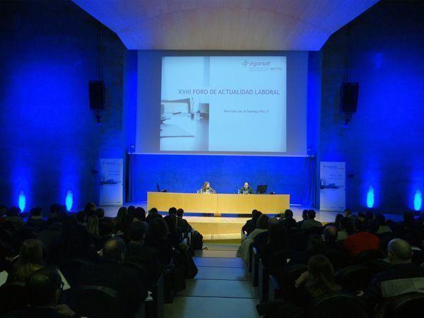 Egarsat reúne cerca de 2.000 asistentes en la XVIII edición del Foro de Actualidad Laboral