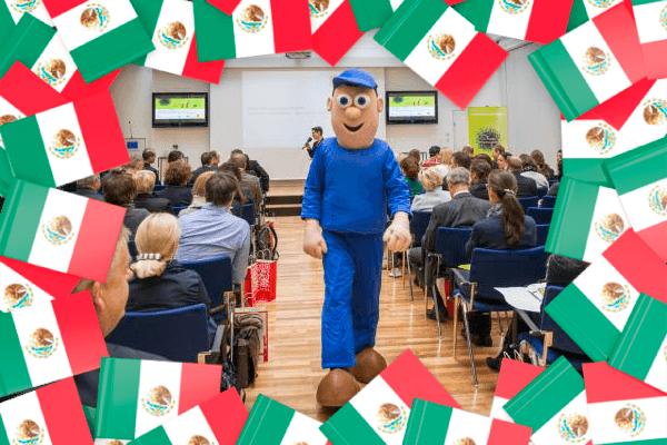 Napo visitará México por primera vez de la mano de Prevencionar