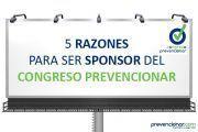 5 Razones para ser sponsor del I Congreso Prevencionar