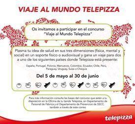 """Telepizza fomenta el """"Equilibrio te da salud"""" en la """"IX Semana Nacional de la Prevención de Riesgos Laborales"""""""