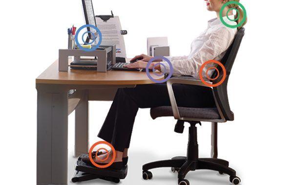 Cómo cuidar tu postura trabajando con el ordenador