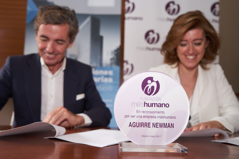 Aguirre Newman se compromete para que sus oficinas sean saludables
