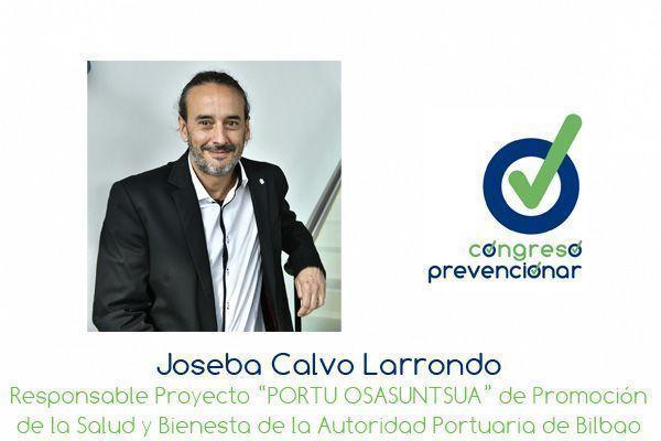 """Joseba Calvo """"La promoción de la salud en el trabajo es el colofón a una práctica preventiva eficaz"""""""