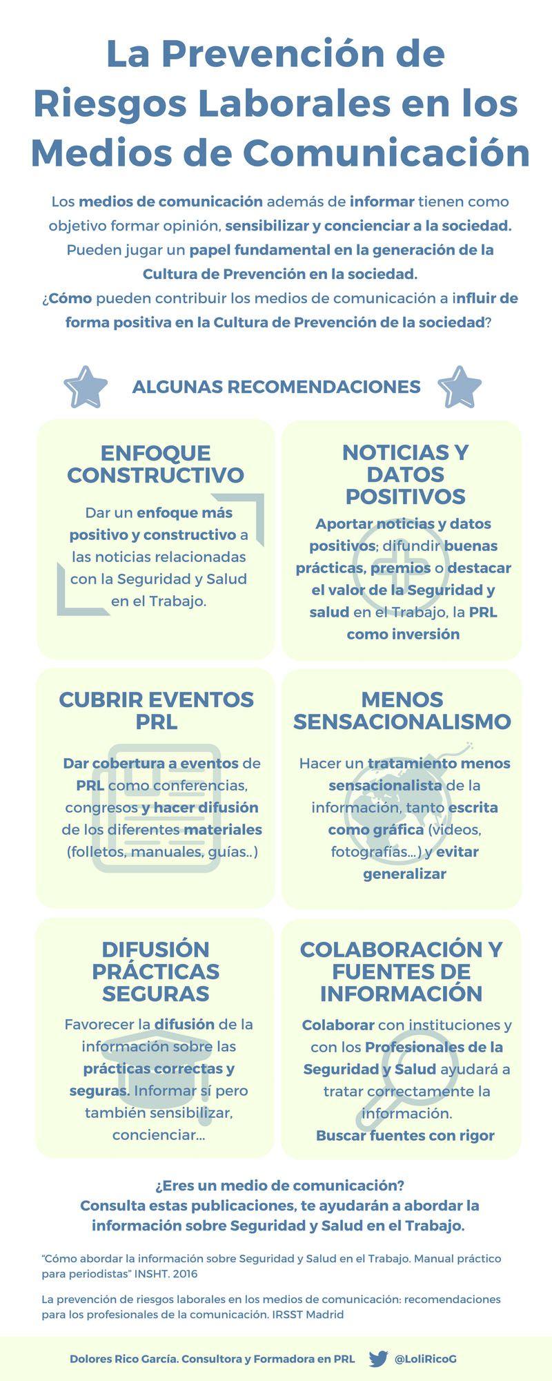 PRL EN MEDIOS DE COMUNICACION