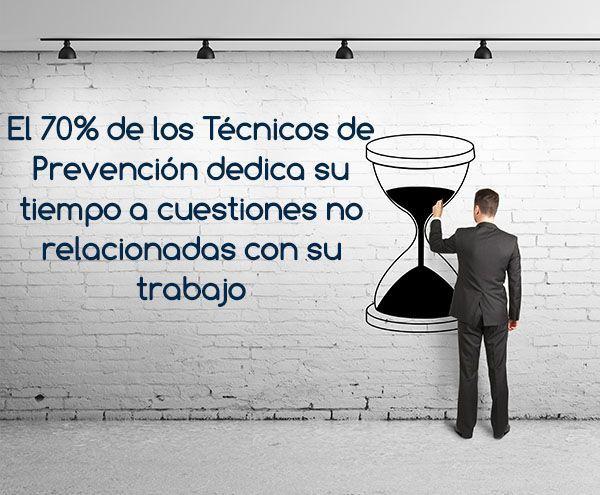 El 70% de los Técnicos de PRL dedica su tiempo a cuestiones no relacionadas con su trabajo