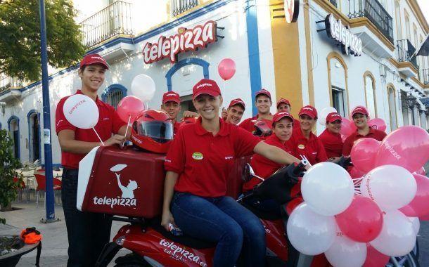 Telepizza celebró su IX Semana de la Seguridad con un menú gourmet saludable