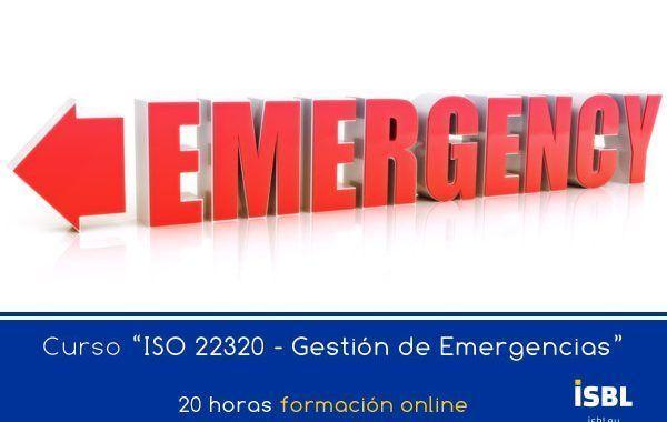 Curso Online: Gestión de Emergencias (ISO 22320)